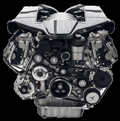 modern-car-engine-isolated-on-white-background-K9Z2XYE